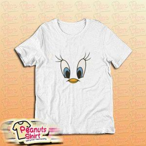 Tweety Bird Face T-Shirt