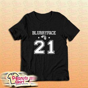 Twenty One Pilots Blurry Face T-Shirt