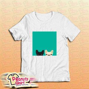 2 French Bulldogs T-Shirt