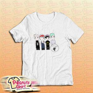 5 Second Of Summer Cartoon T-Shirt