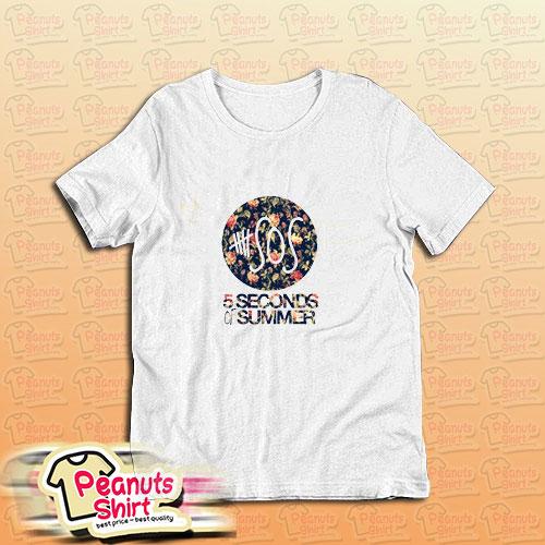 5 Sos Floral T-Shirt