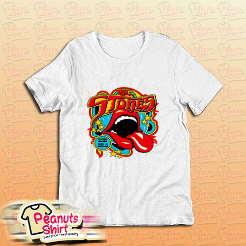 Vintage Tongue Rolling Stones T-Shirt