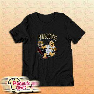 90s Pittsburgh Pirates Fred Flintstone T-Shirt