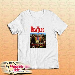 A Day In The Life Beatles T-Shirt