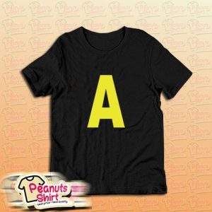 A Letter Alvin Chipmunks T-Shirt