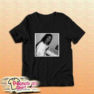 Aaliyah Black And White T-Shirt