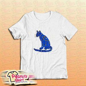Abba Blue Cat T-Shirt