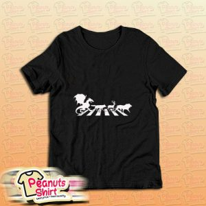 Abey Road Game Of Thrones T-Shirt