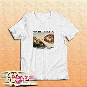Adam Michelangelo T-Shirt