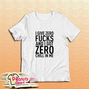 Ariana Grande Side By Side Give Zero T-Shirt