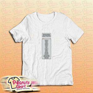 Ariana Grande The Honeymoon World Tour T-Shirt
