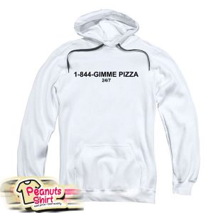 1 844 Gimme Pizza Hoodie