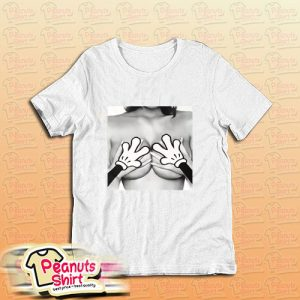 Micky Mouse Hands Mickey Mouse Boobs T-Shirt