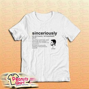 Stephen Amell Sinceriously T-Shirt
