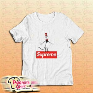The Cat In The Hat Supreme Red Box T-Shirt
