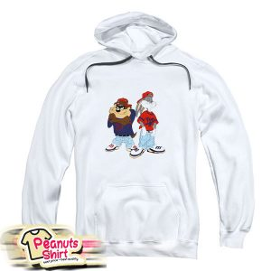 Gangster Taz And Bugs Bunny Hoodie
