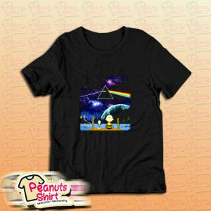 Snoopy And Charlie Brown Pink Floyd T-Shirt
