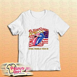 The Rolling Stones Steel Wheels Tour T-Shirt