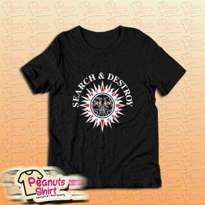 Search And Destroy Henry Rollins Band T-Shirt