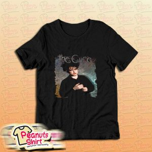 The Cure Robert Smith Vintage Art Band Cover T-Shirt